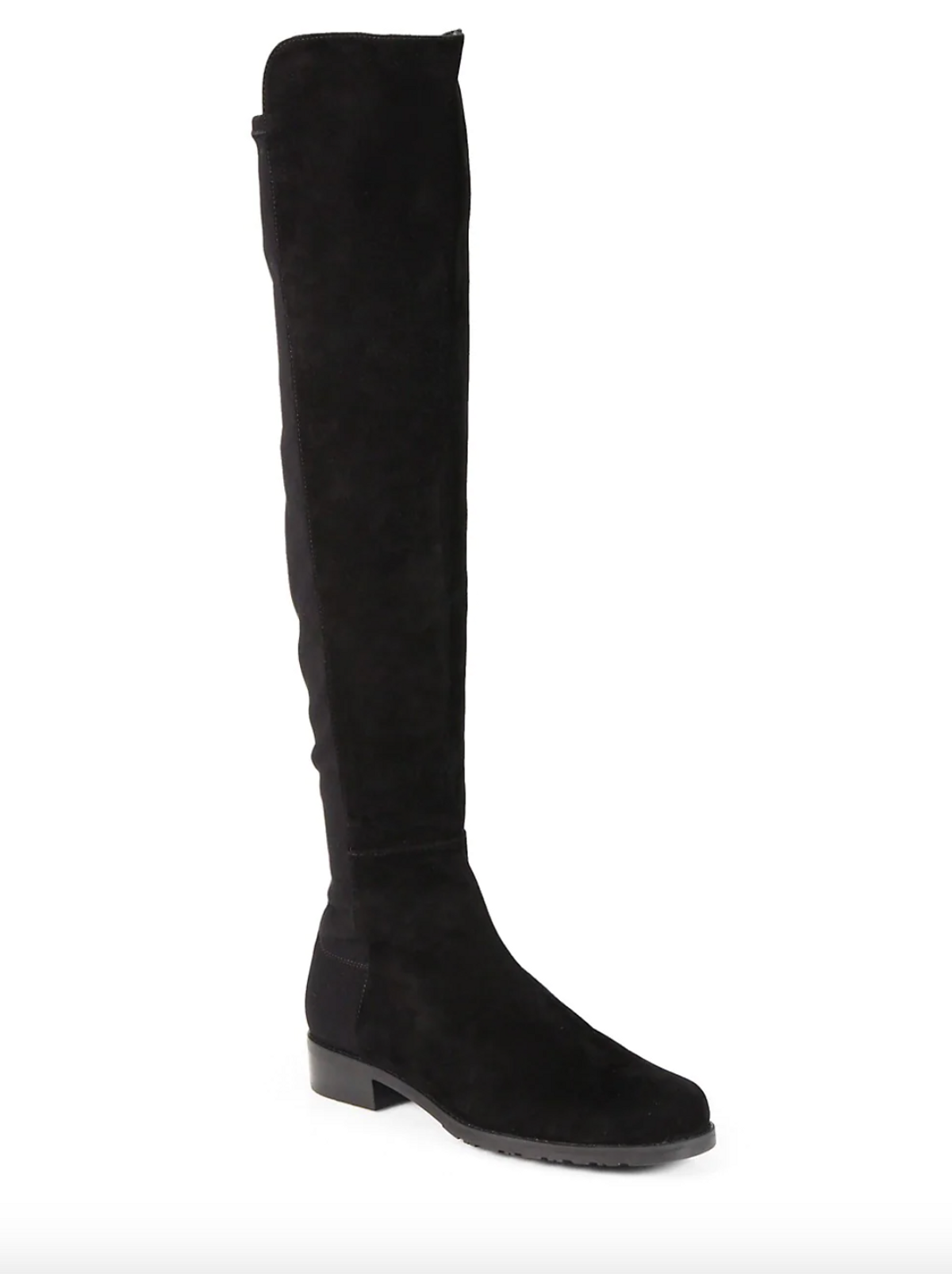 5050 Over-the-Knee Stretch Suede Boots