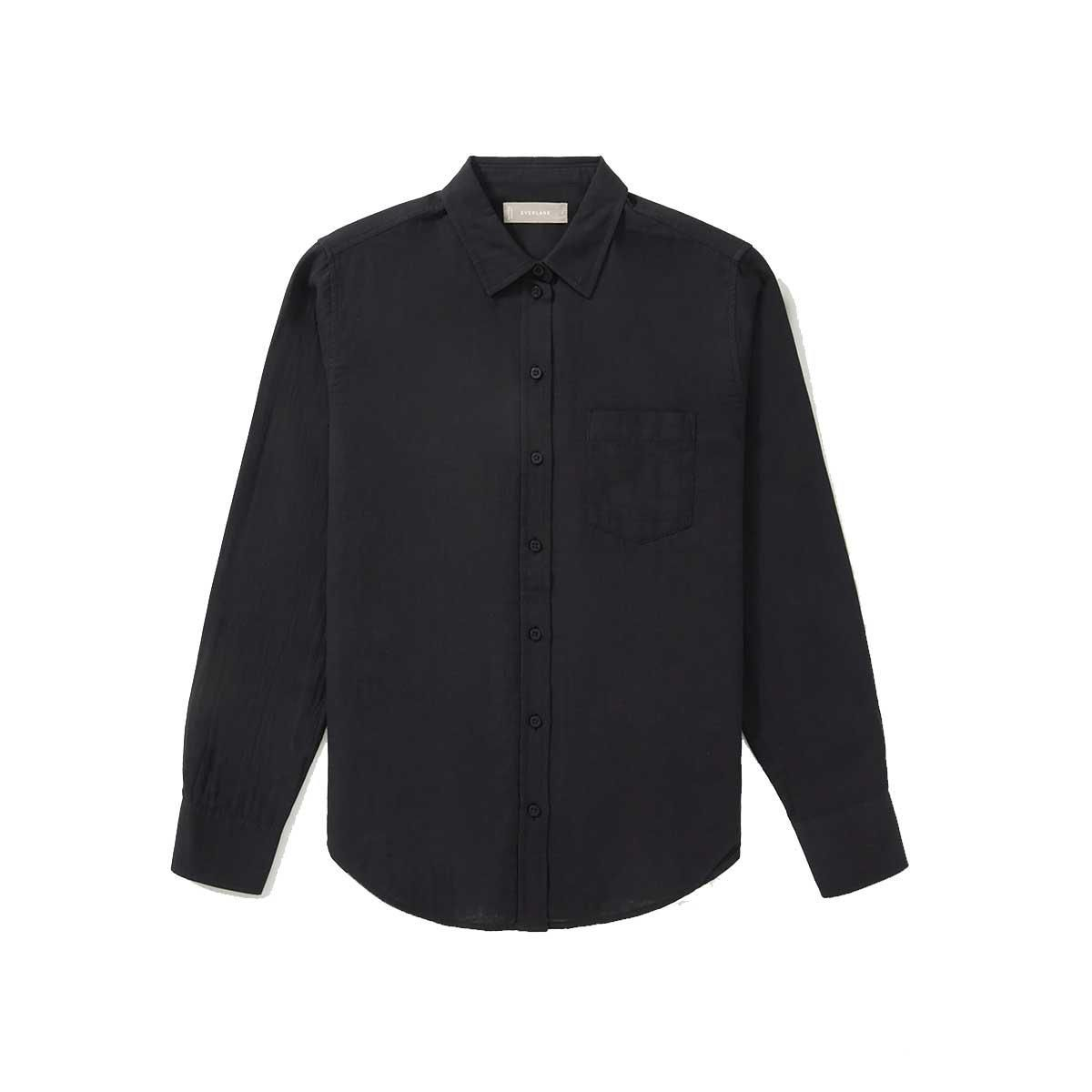 everlane the double gauze relaxed shirt