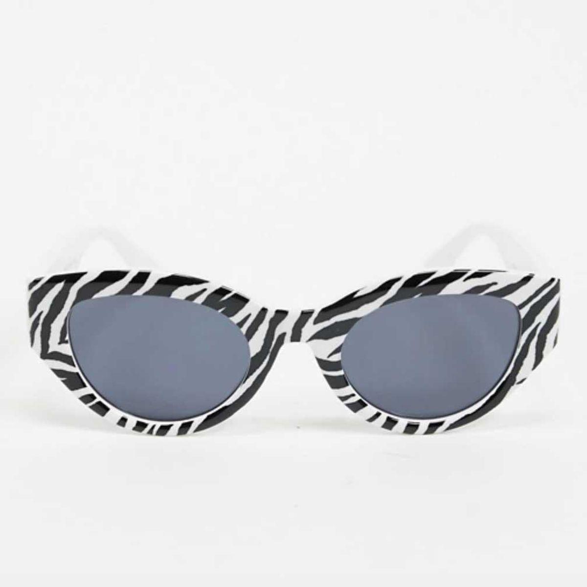 aj morgan retro oval cats eye sunglasses