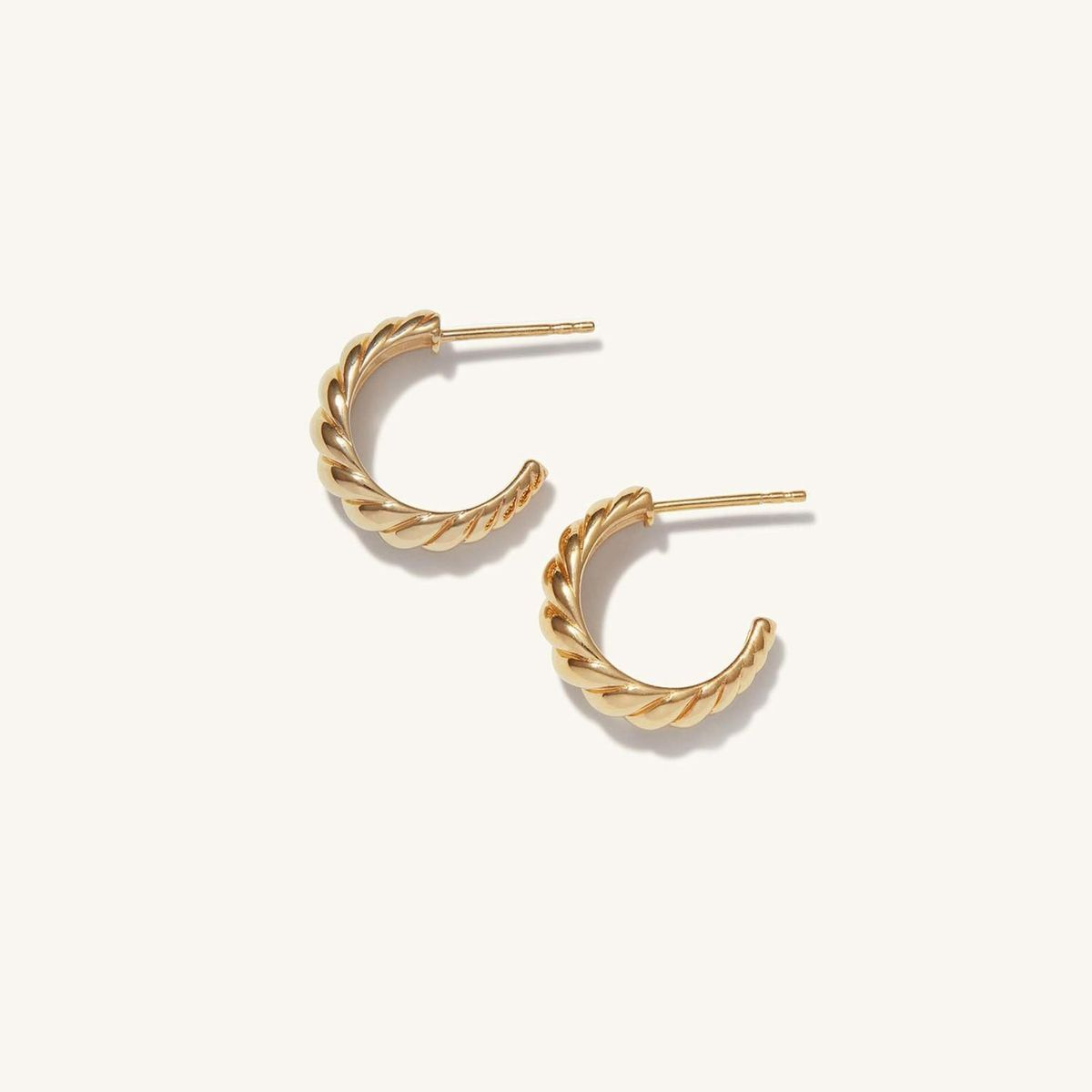 mejuri croissant dome hoops