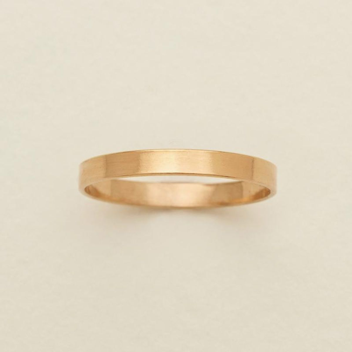 made by mary cleo stacking ring