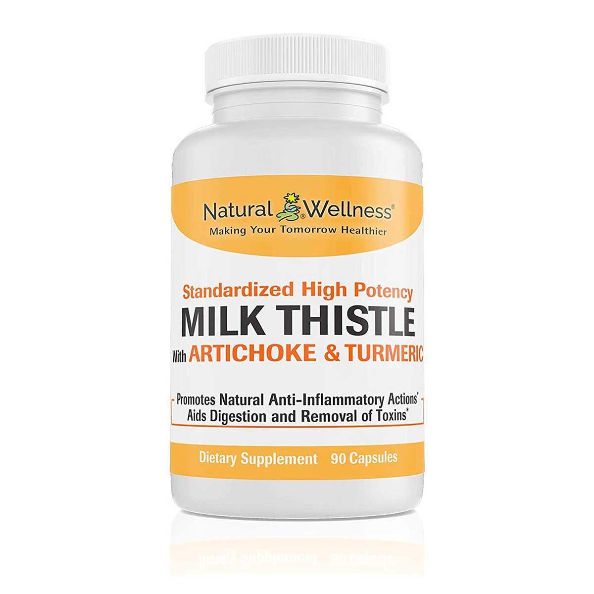 natural wellness milk thistle