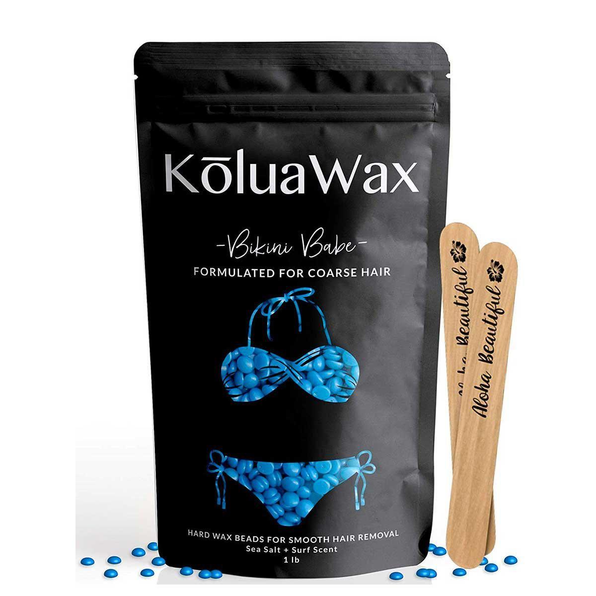 koluawax hard wax beads for hair removal