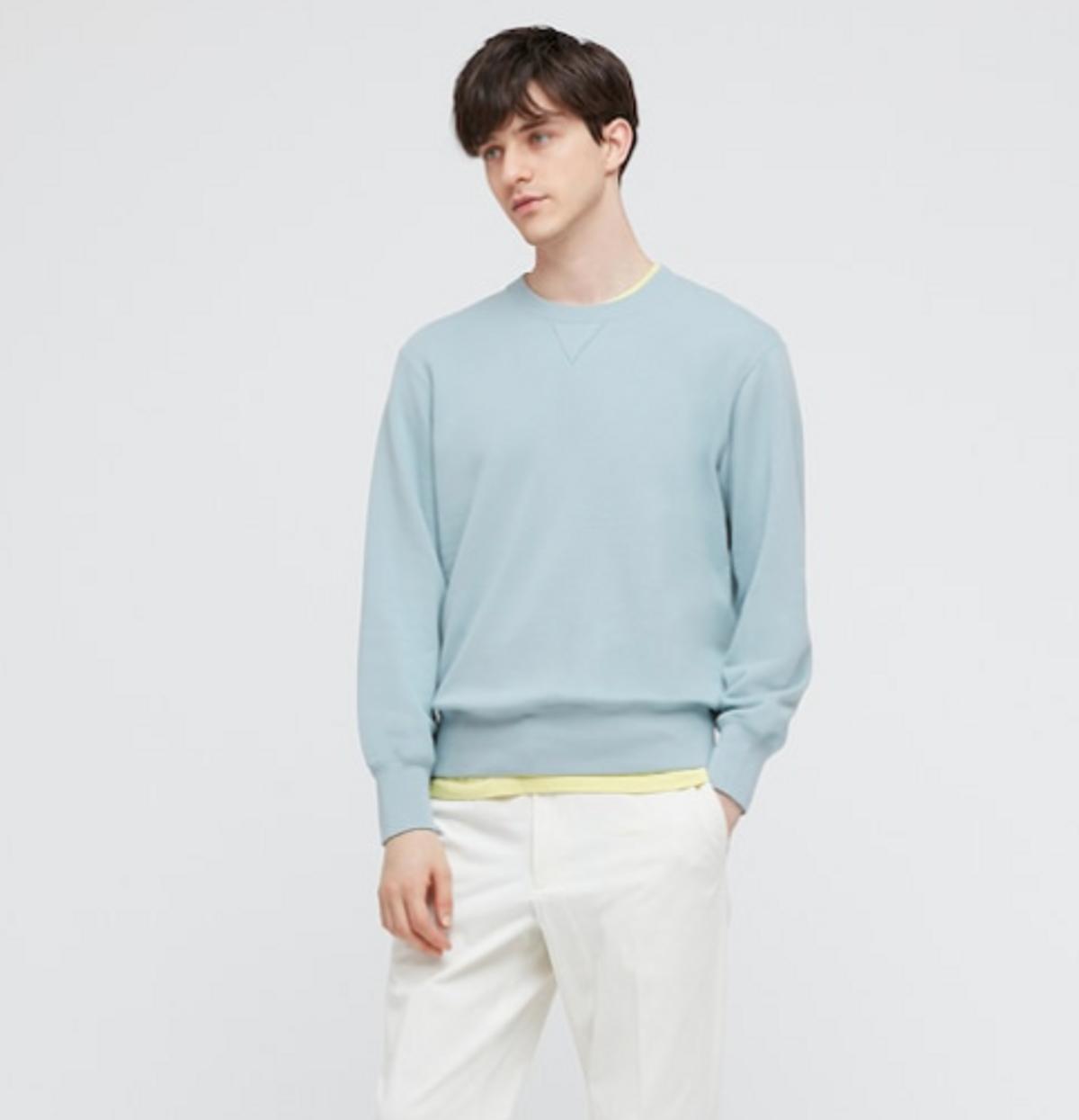 uniqlo long sleeve sweatshirt