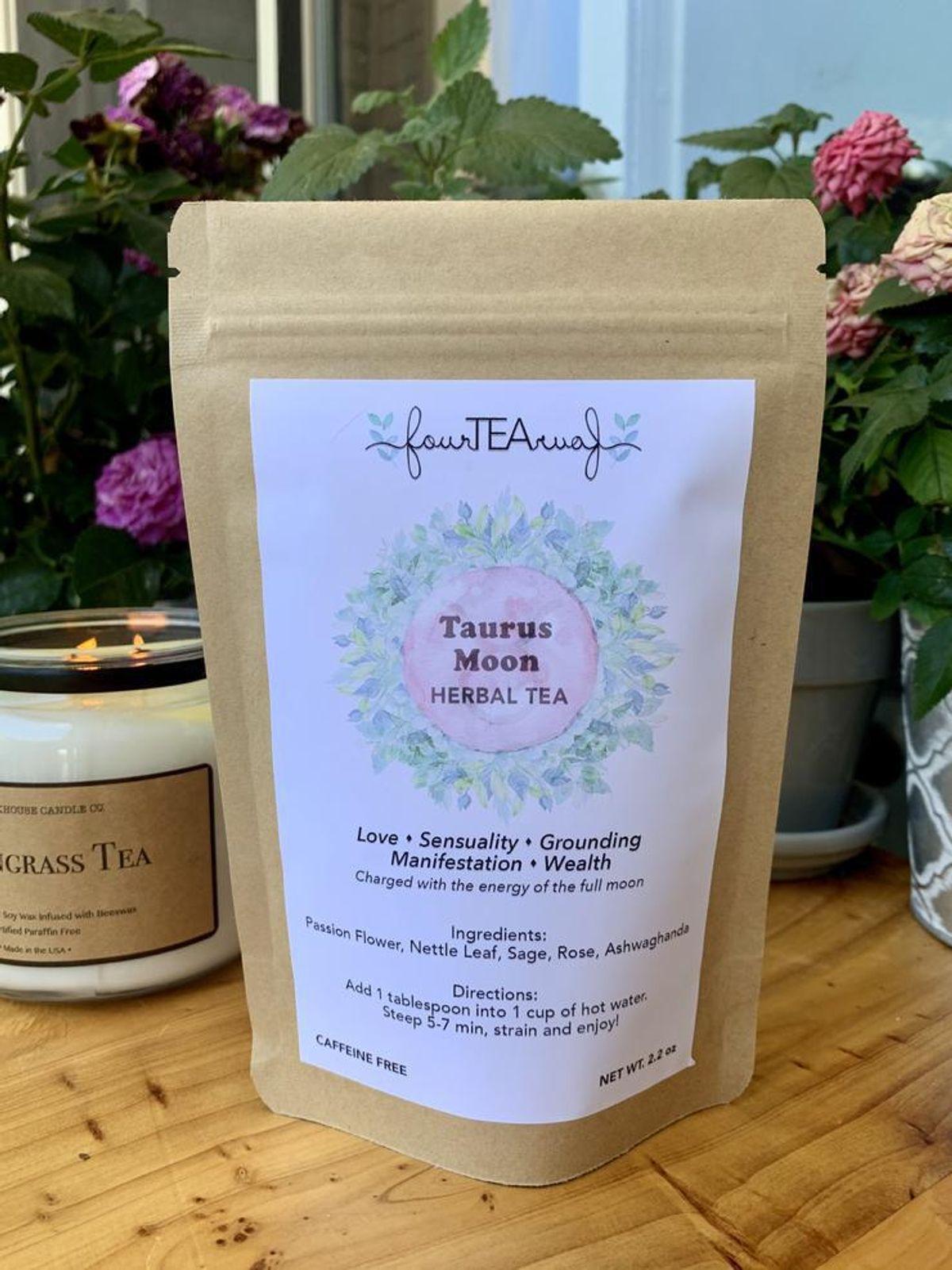 four tea four taurus moon herbal tea