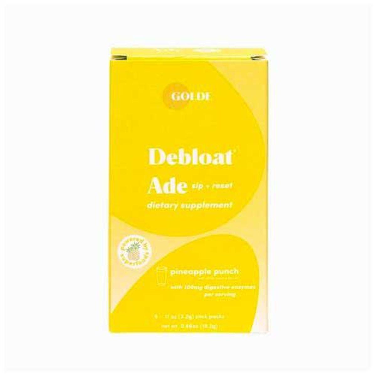 golde debloat ade pineapple dietary supplements