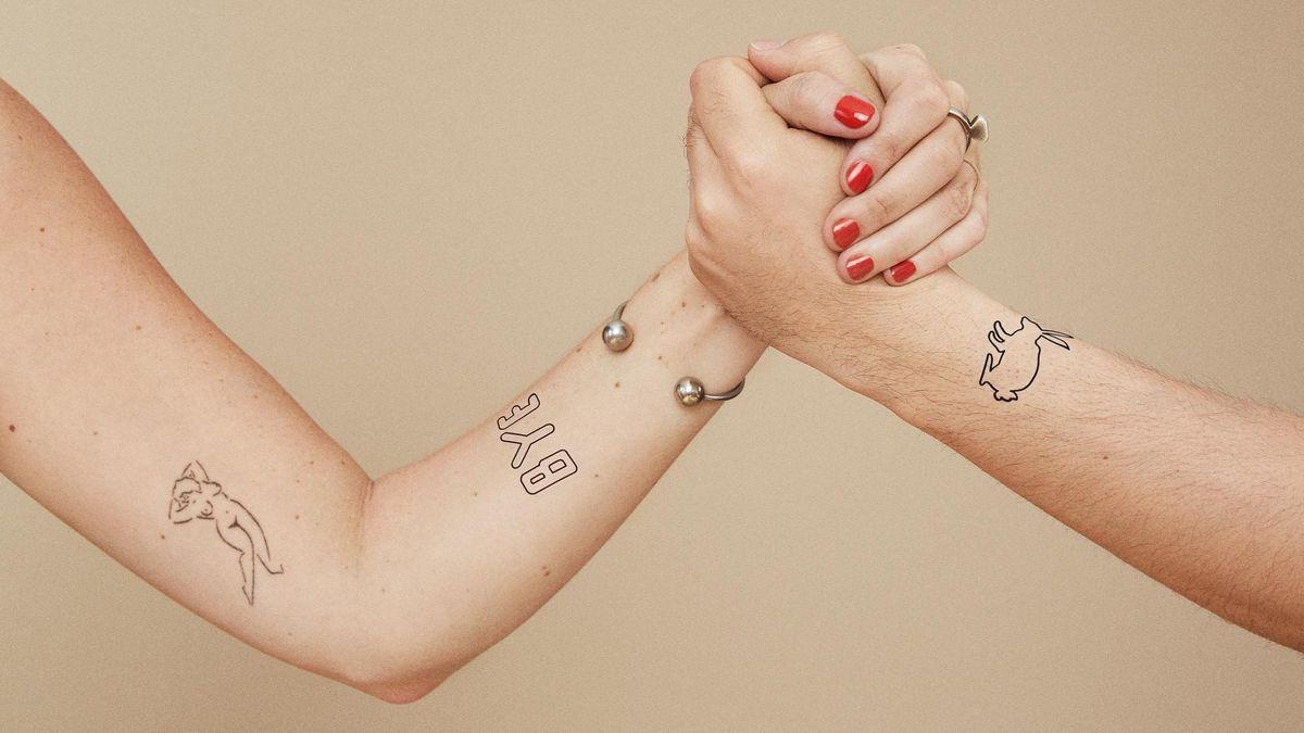 ephemeral tattoo