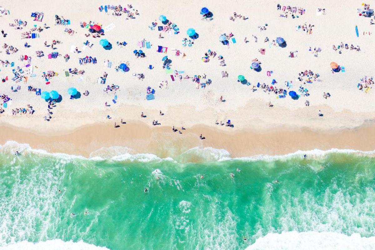 Surfside Beach Sunbathers, Nantucket