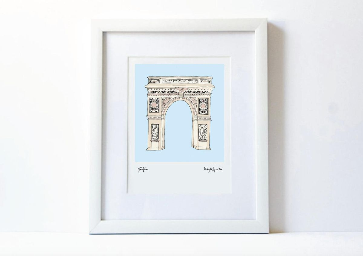 NYC Curated washington square arch
