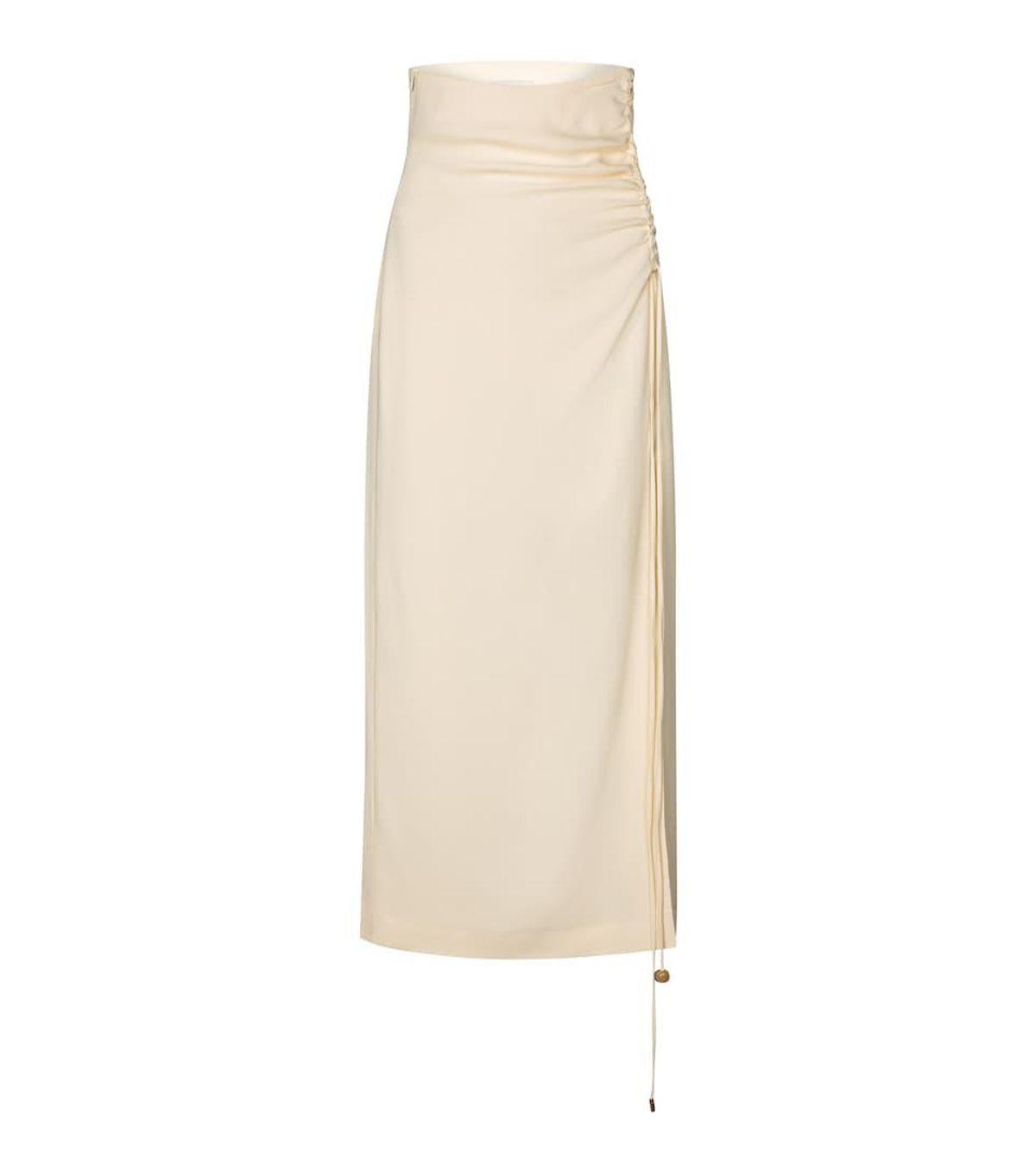 Malorie Georgette Midi Skirt