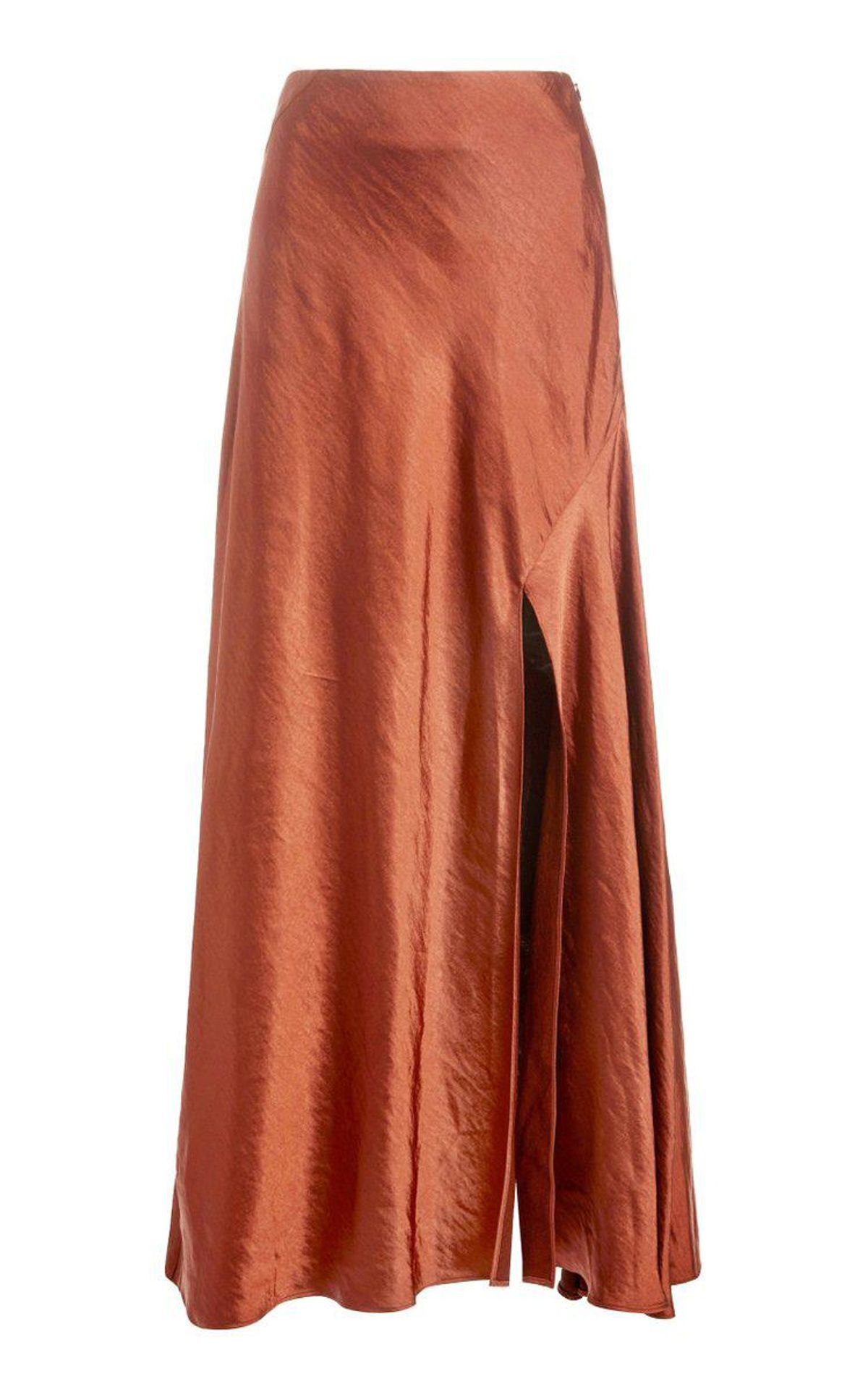 Aura High Rise Satin Skirt