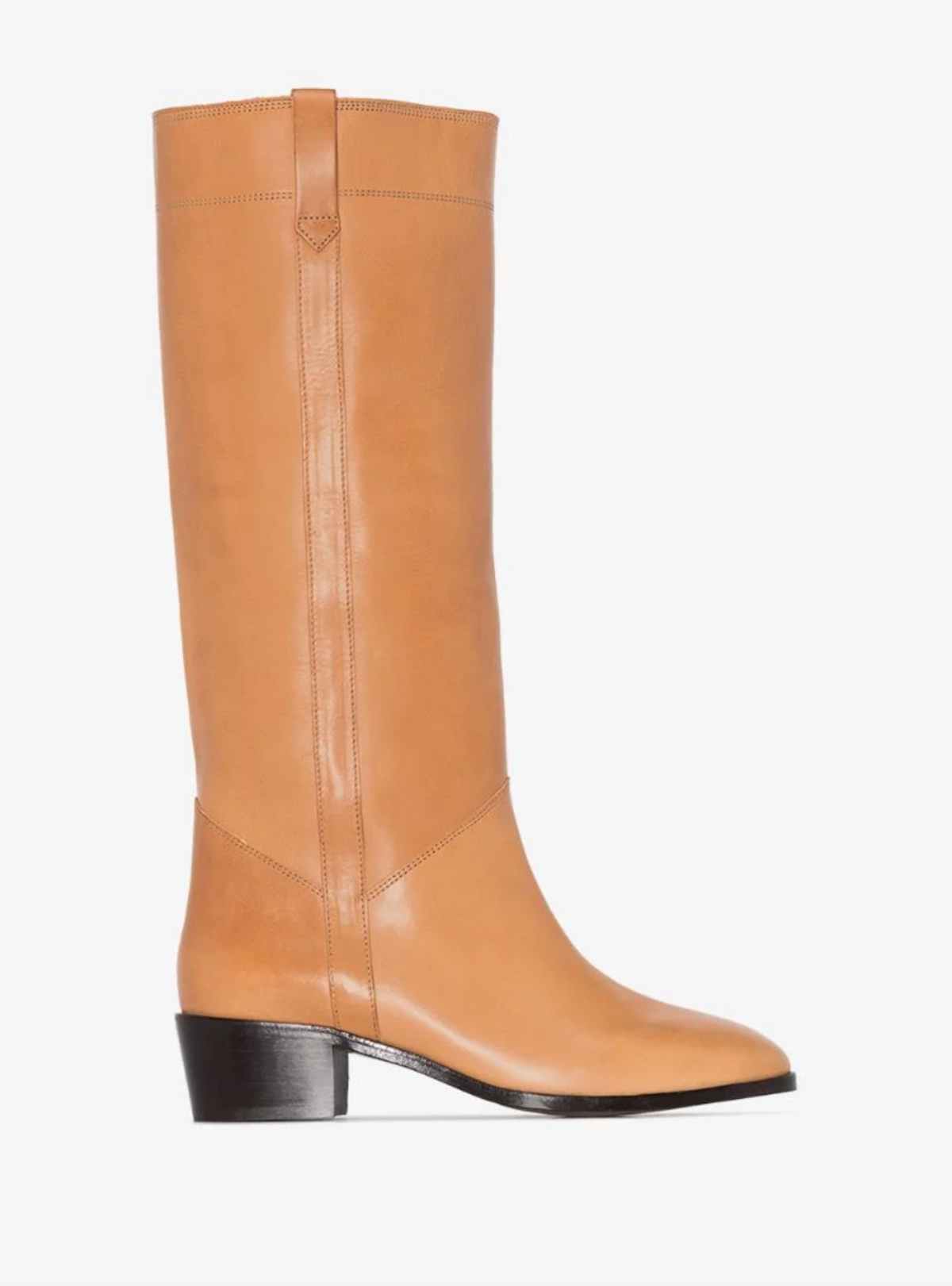 Brown Mewis 50 Leather Riding Boots