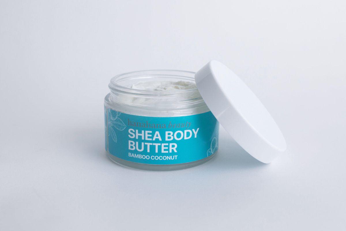 hanahana beauty bamboo coconut body butter