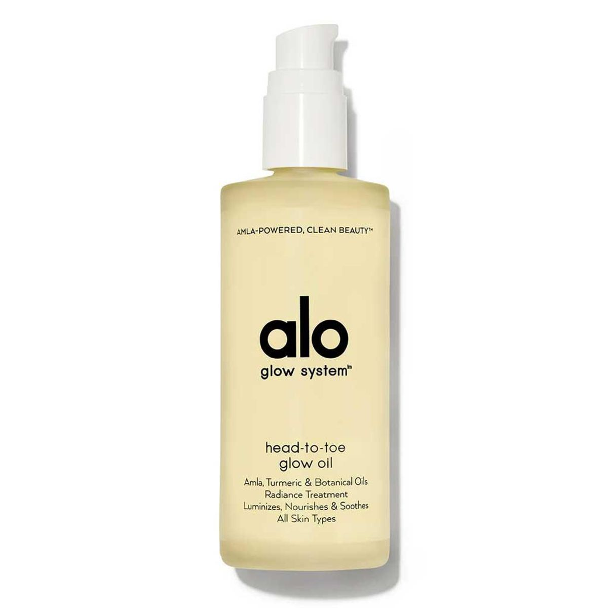 alo head to toe glow oil