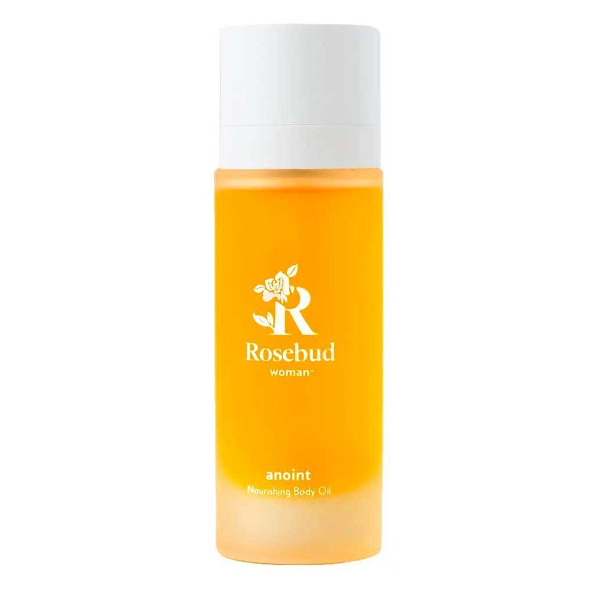 rosebud woman anoint nourishing body oil