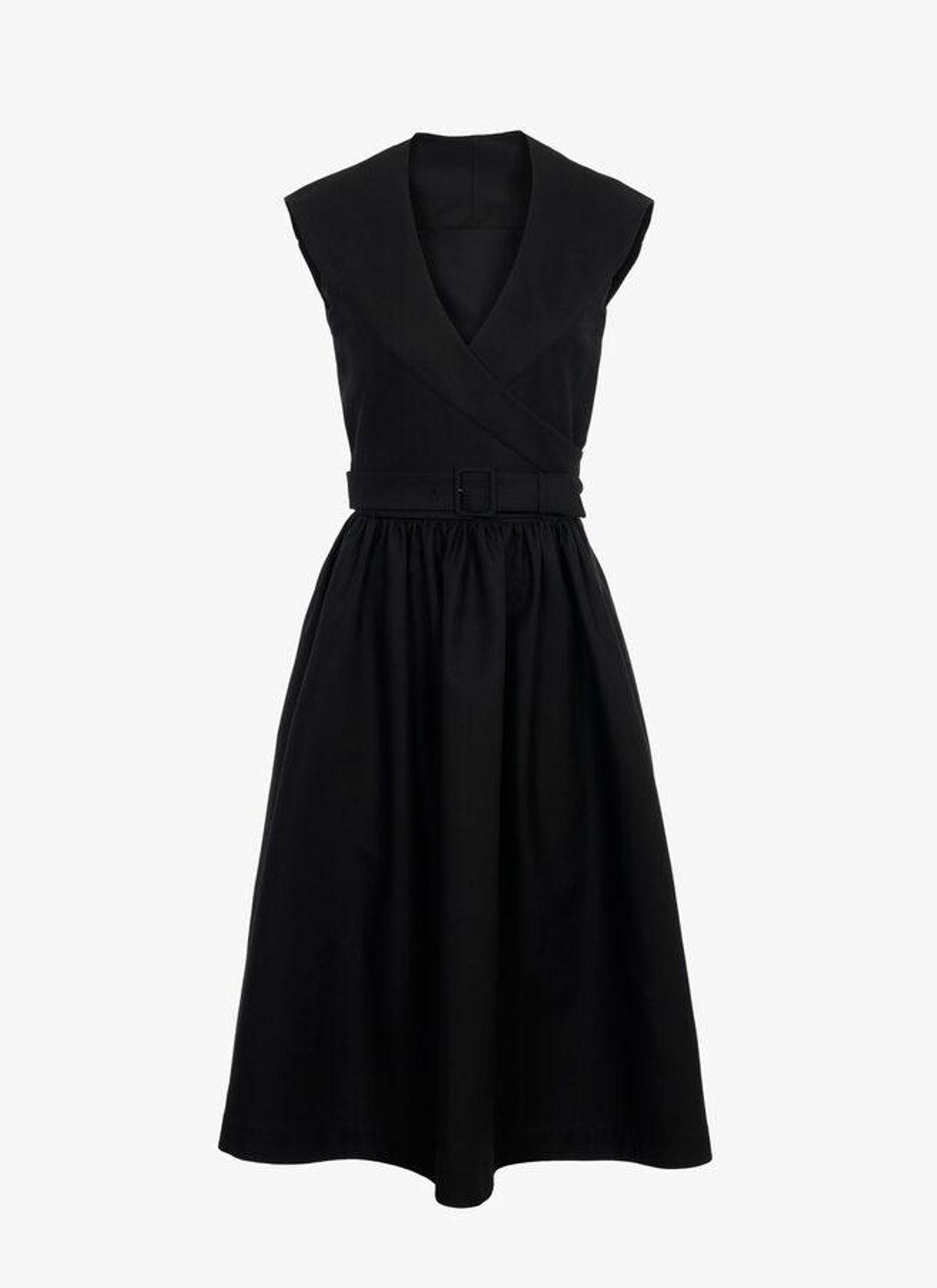 alaia pinafore dress