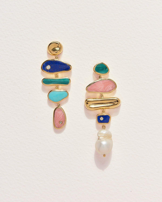 Palma Multi Drop Earrings