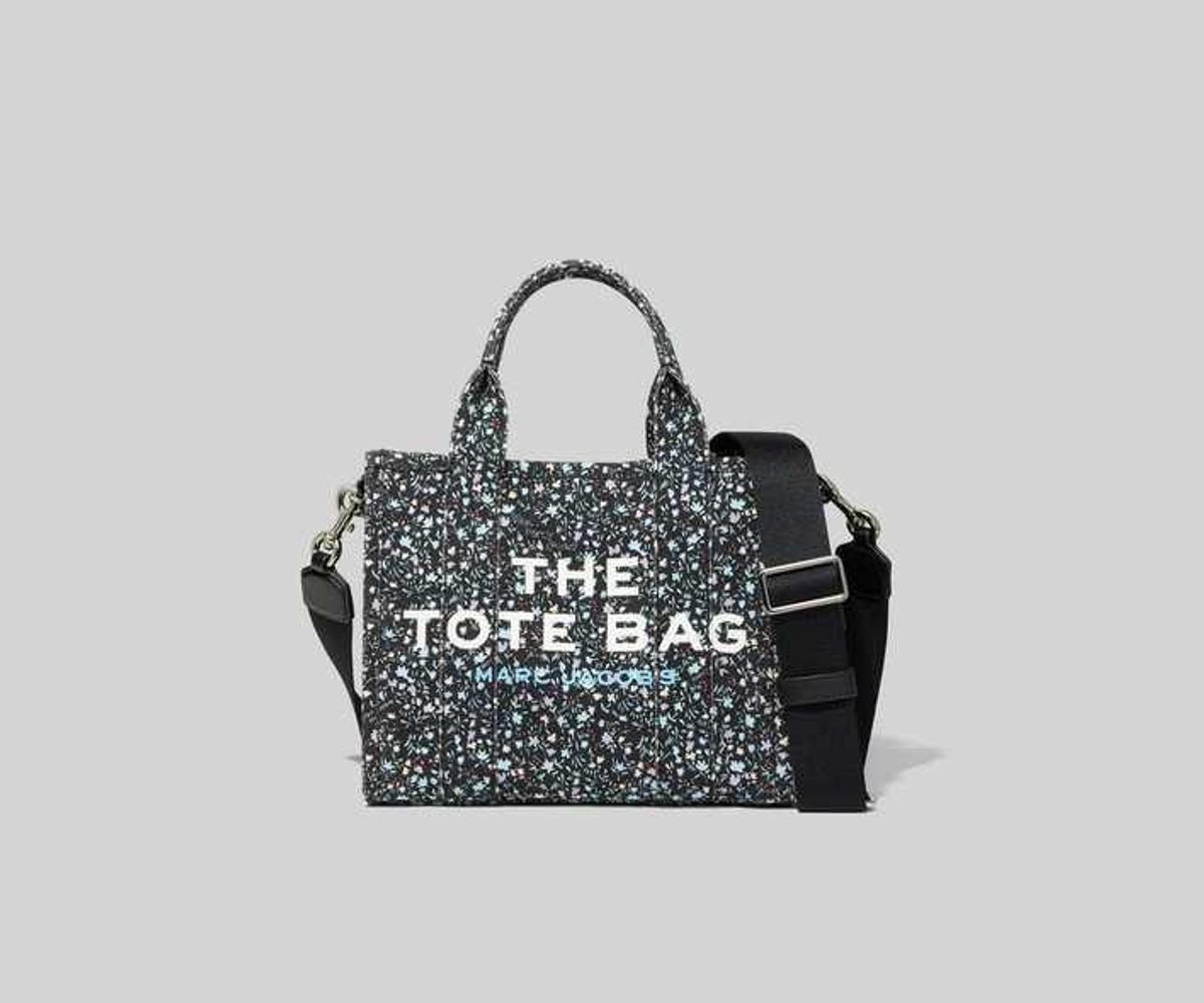 marc jacobs the ditsy floral mini traveler tote bag