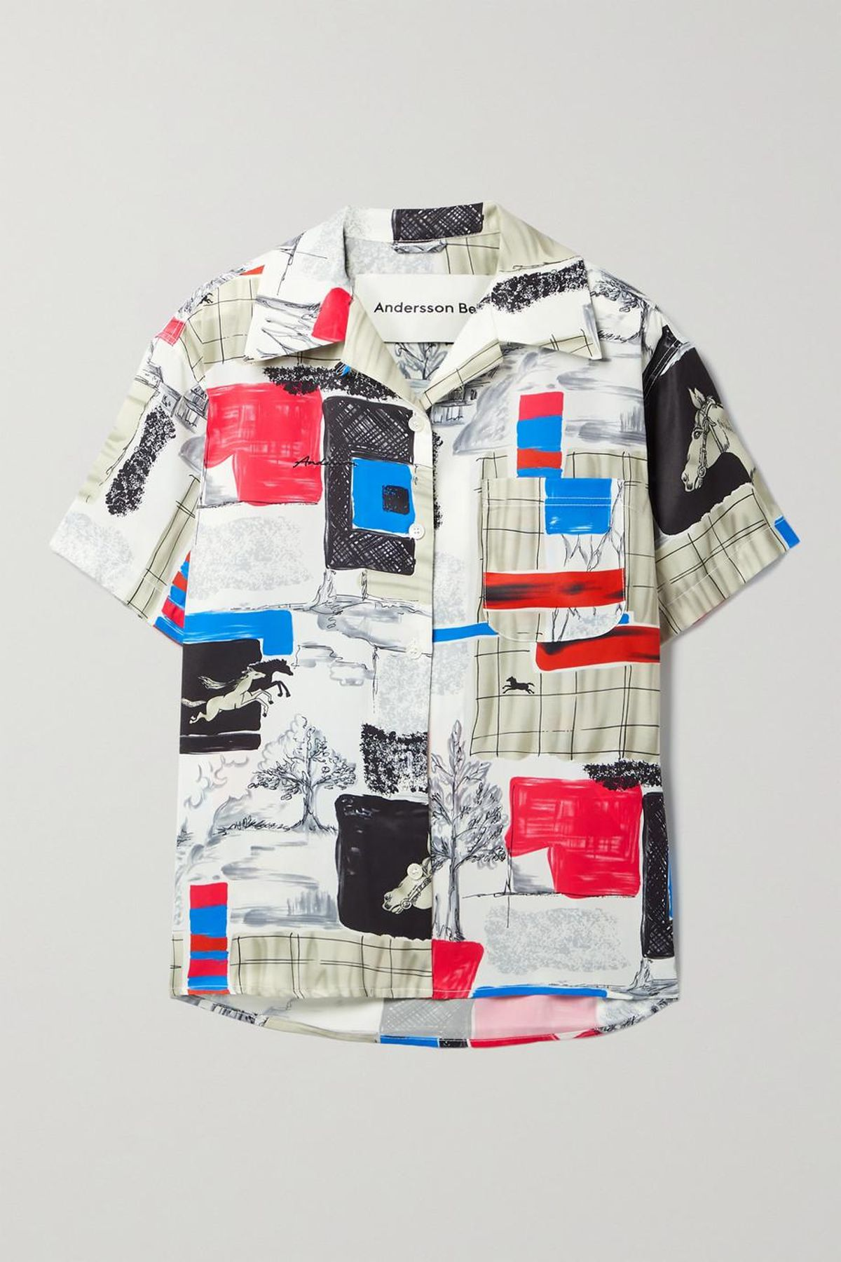 Capri Printed Twill Shirt