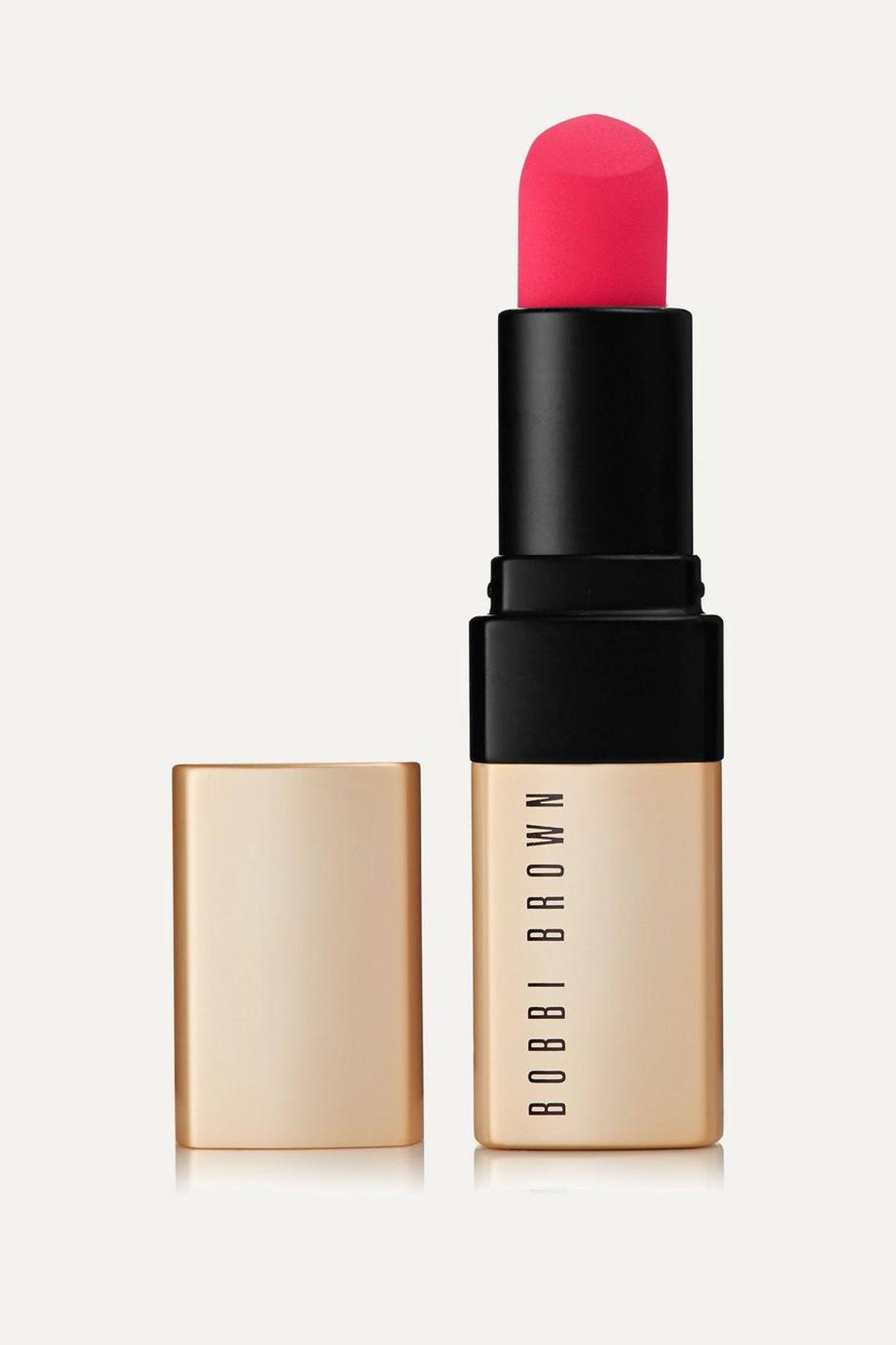 bobbi brown luxe matte lip color in bold nectar