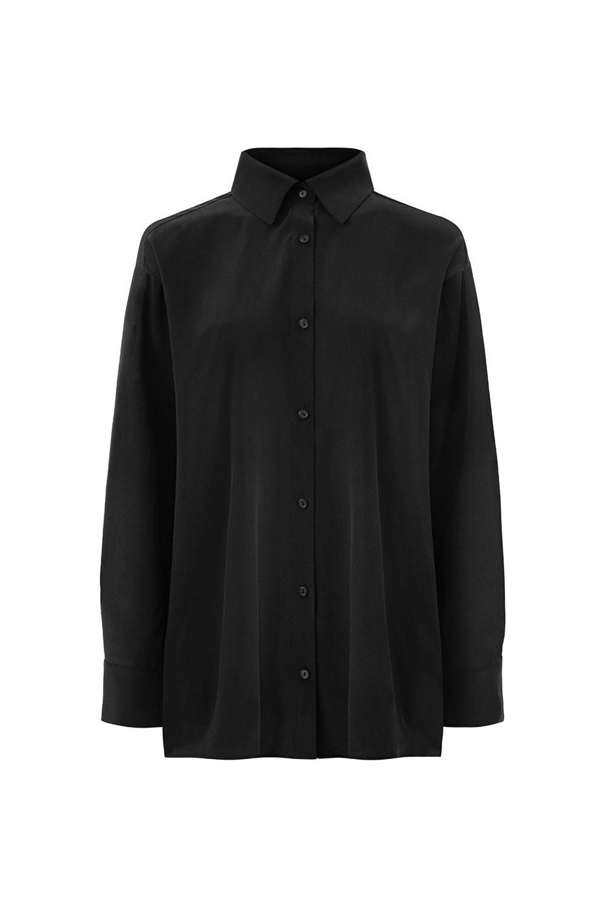 Silk Crepe Shirt