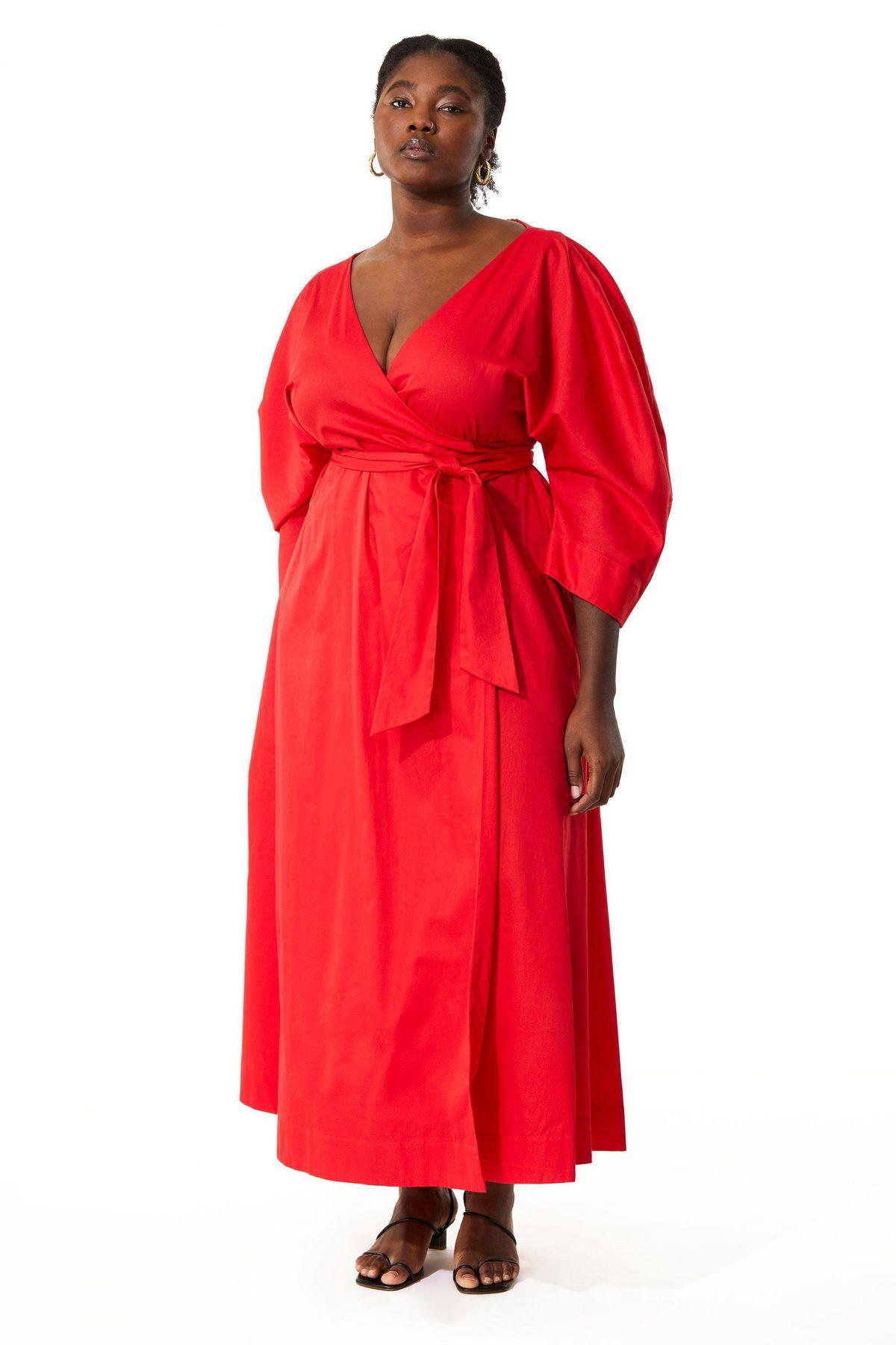 mara hoffman extended agnella dress