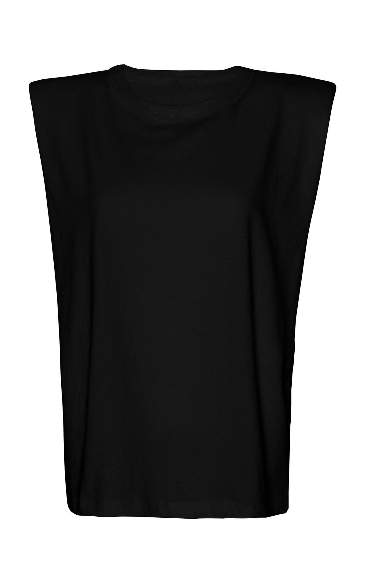 Eva Padded Shoulder Muscle T-Shirt