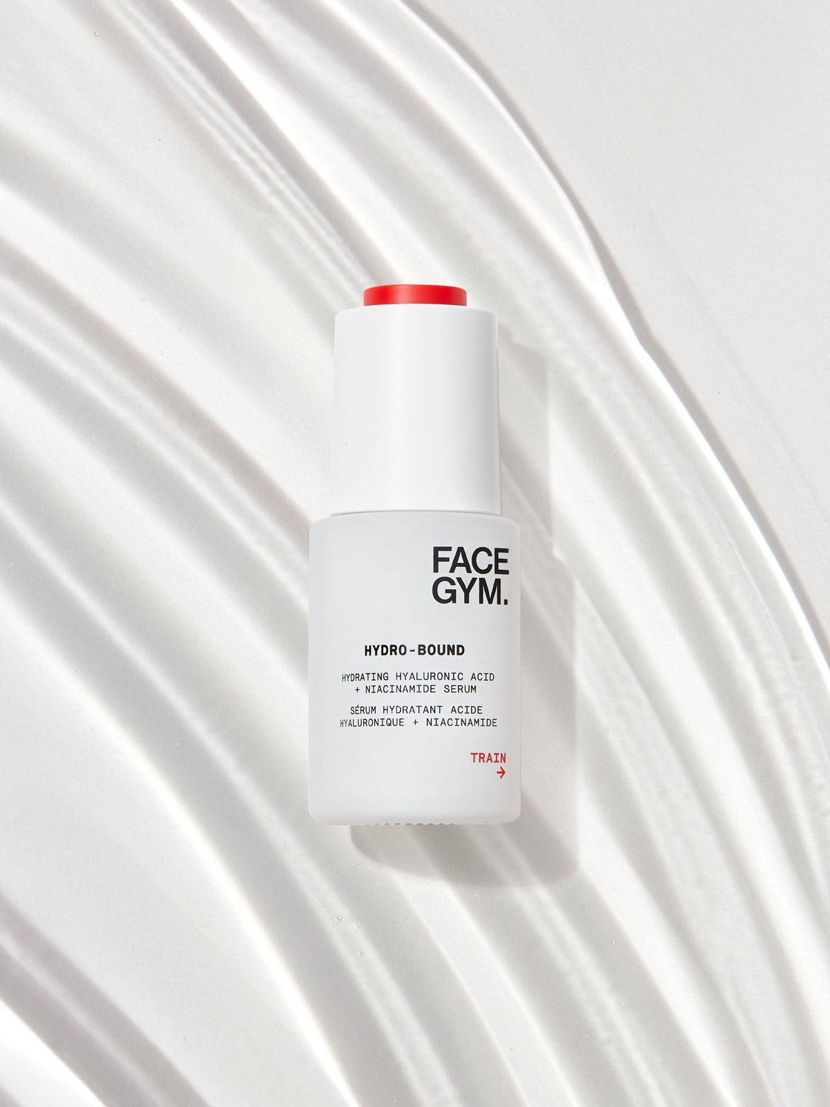 face gym hydro bound hyaluronic acid and niacninamide serum