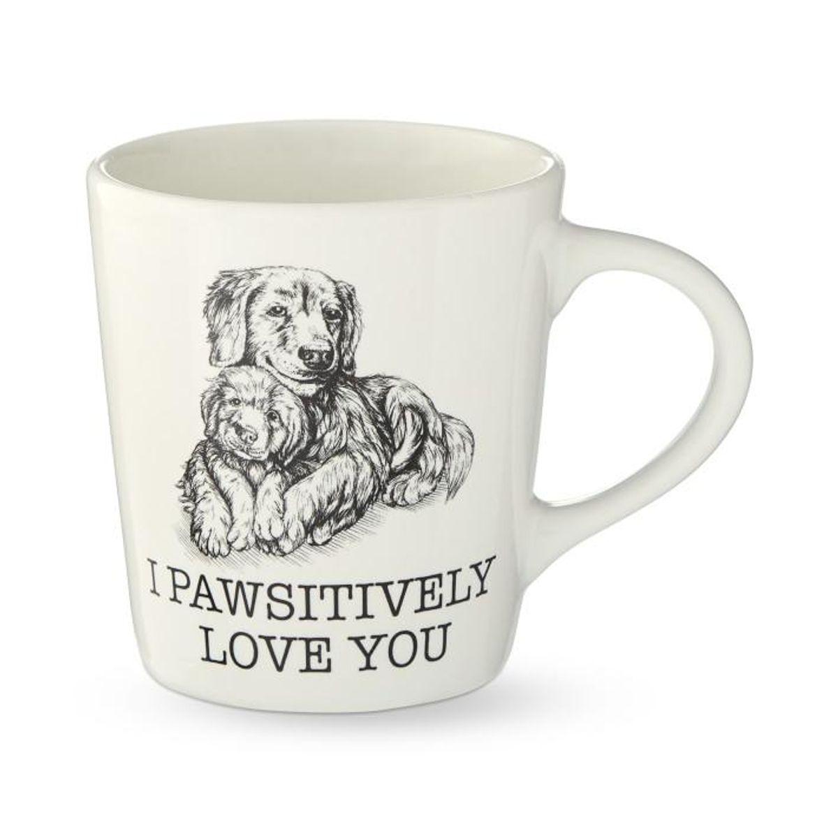 I Pawsitively Love You Mug