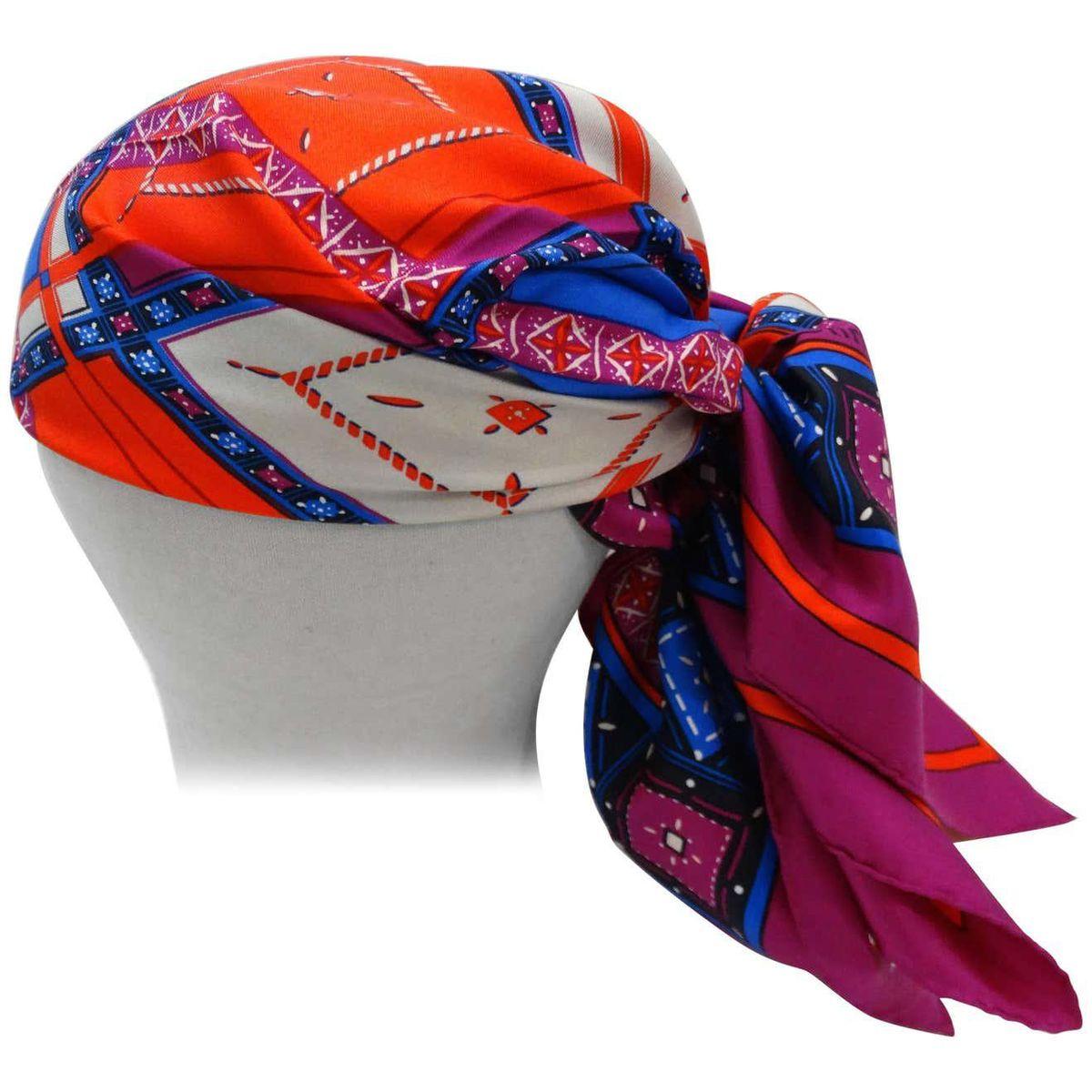 christian dior 1980s jewel silk scarf