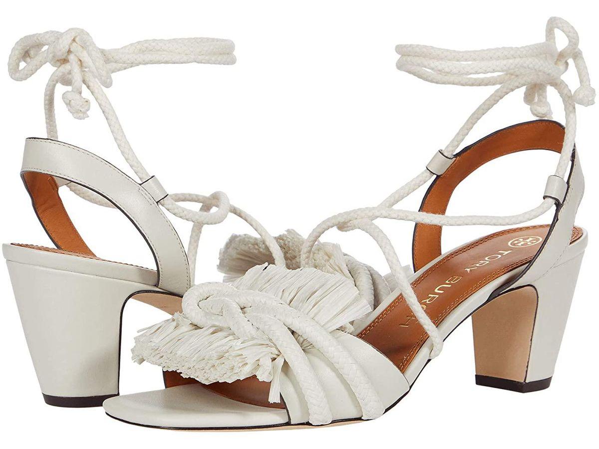 Rope 65mm Heeled Sandal