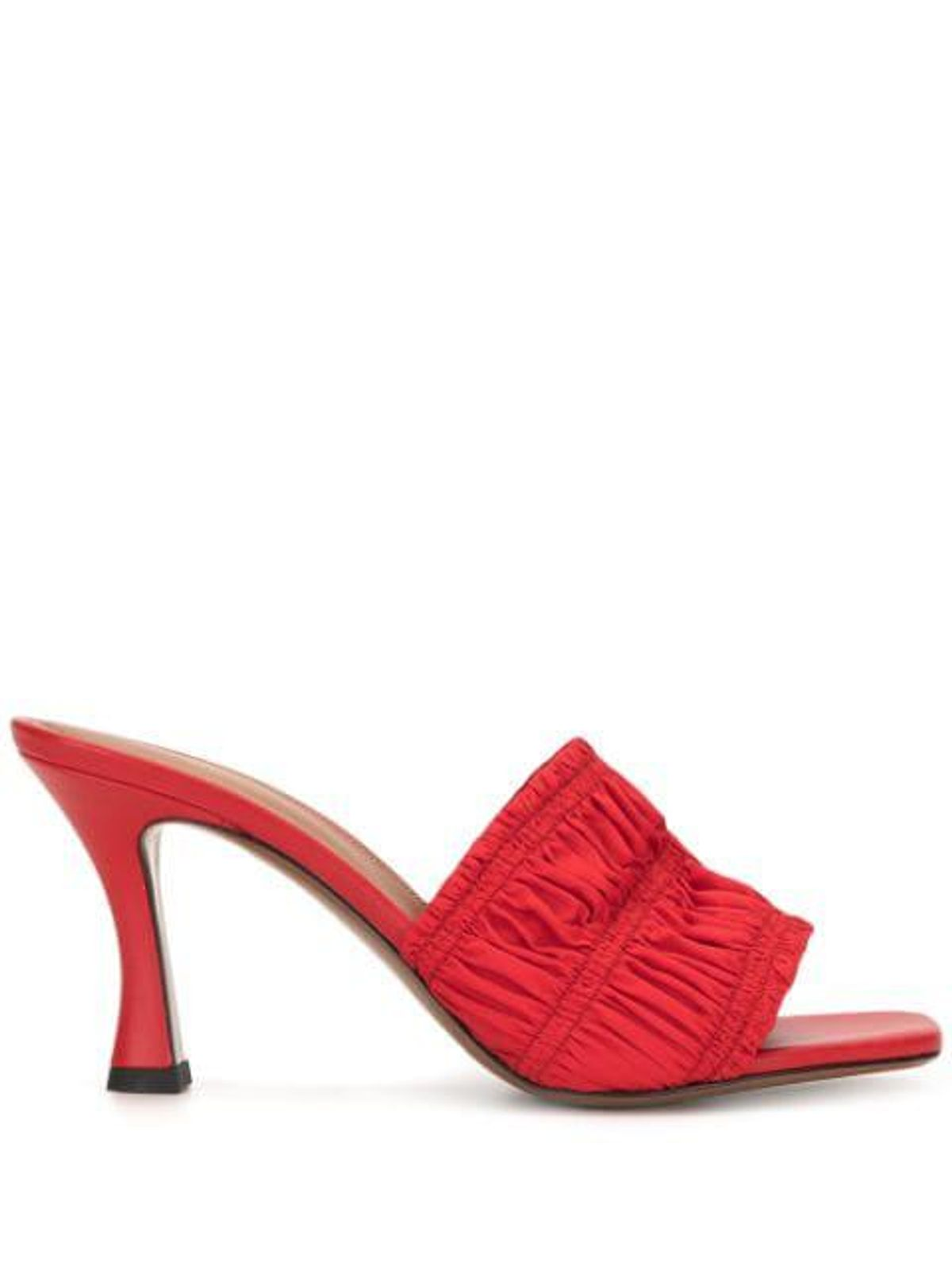 Ruched Detail Mules