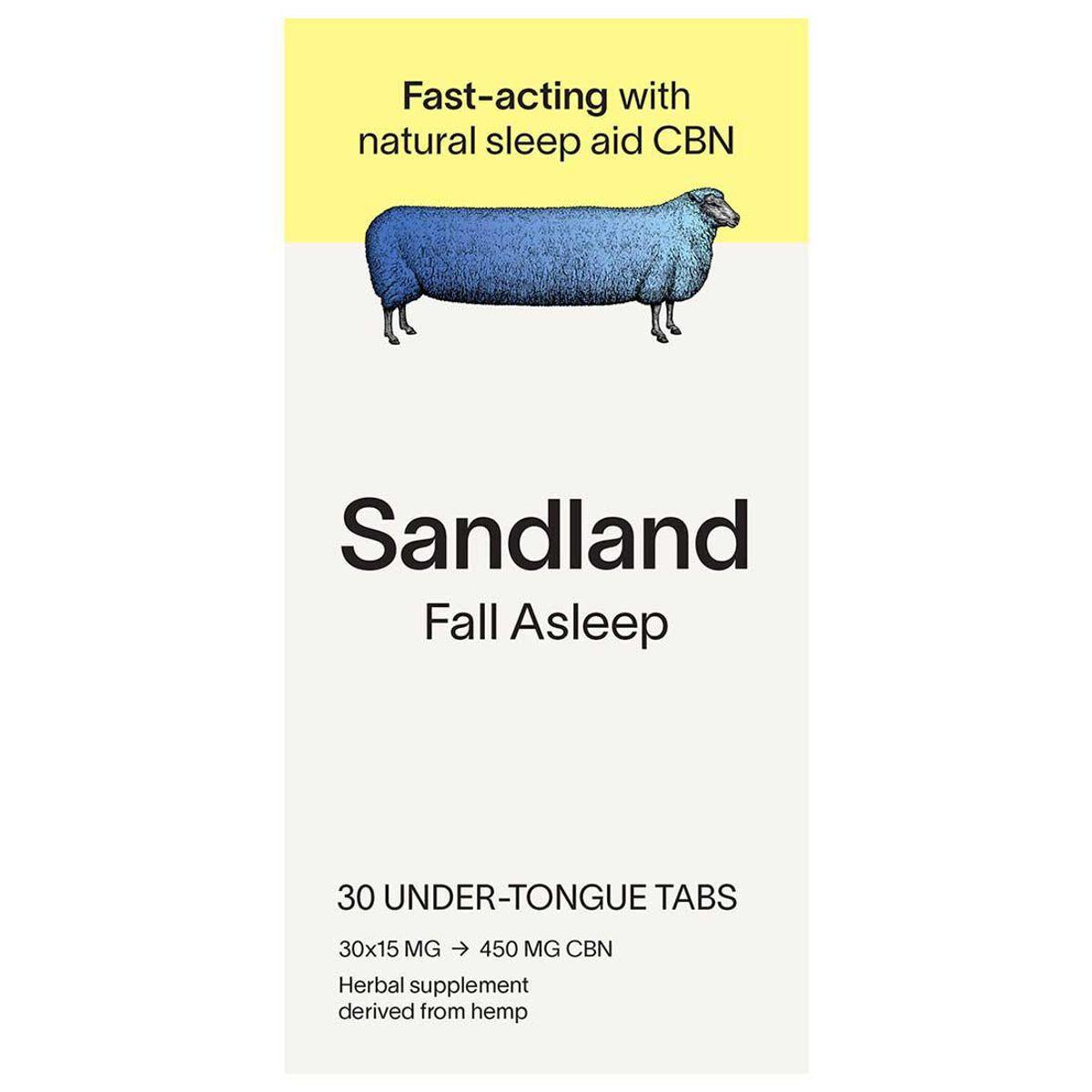 sandland fall asleep