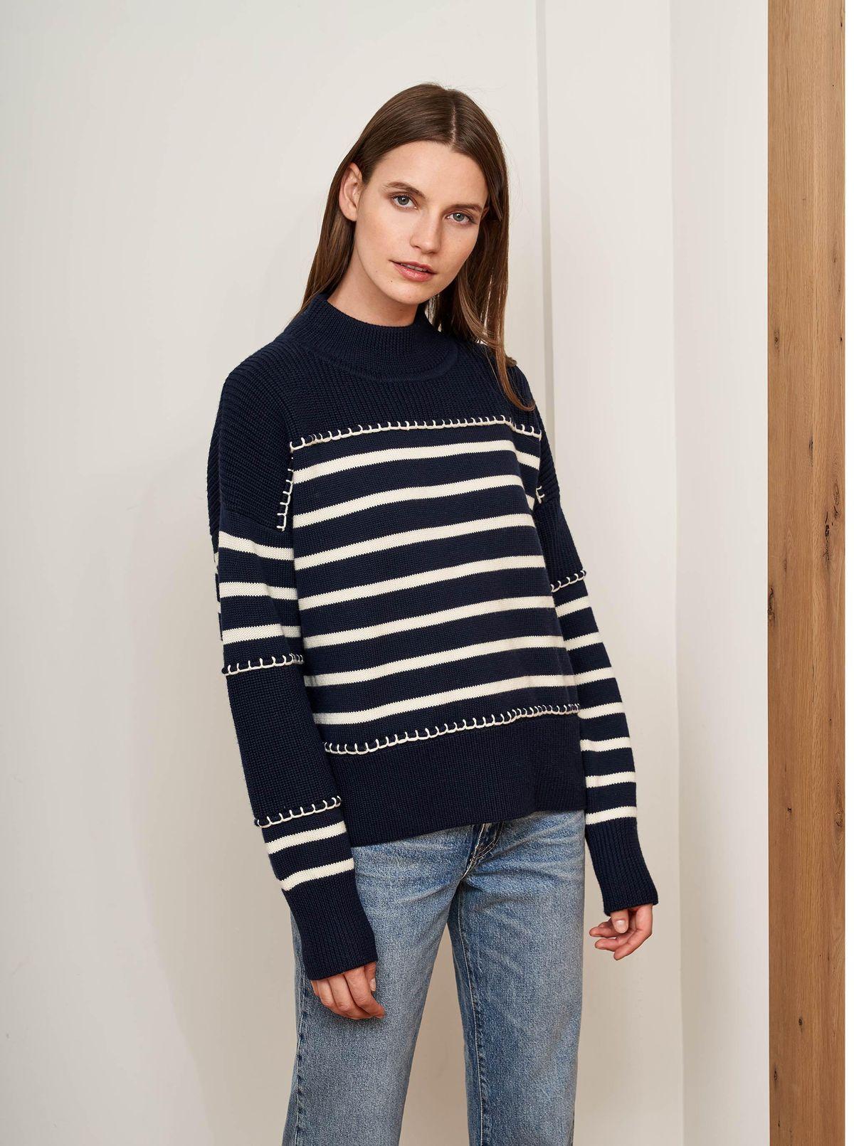 la ligne marine sweater