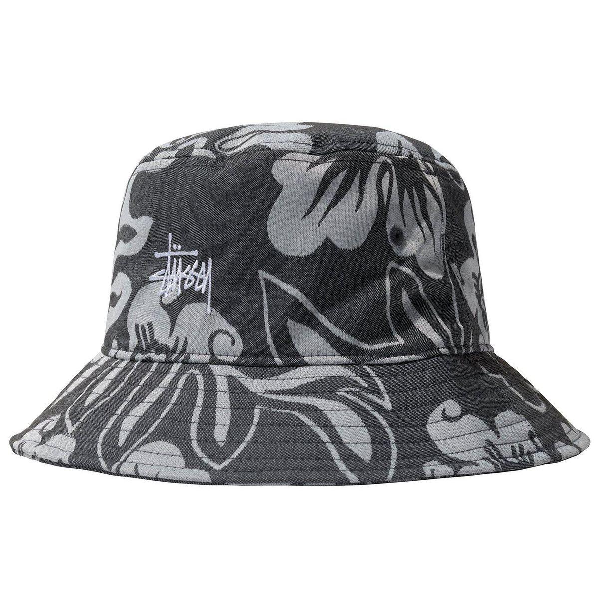 Nylon Hawaiian Bucket Hat