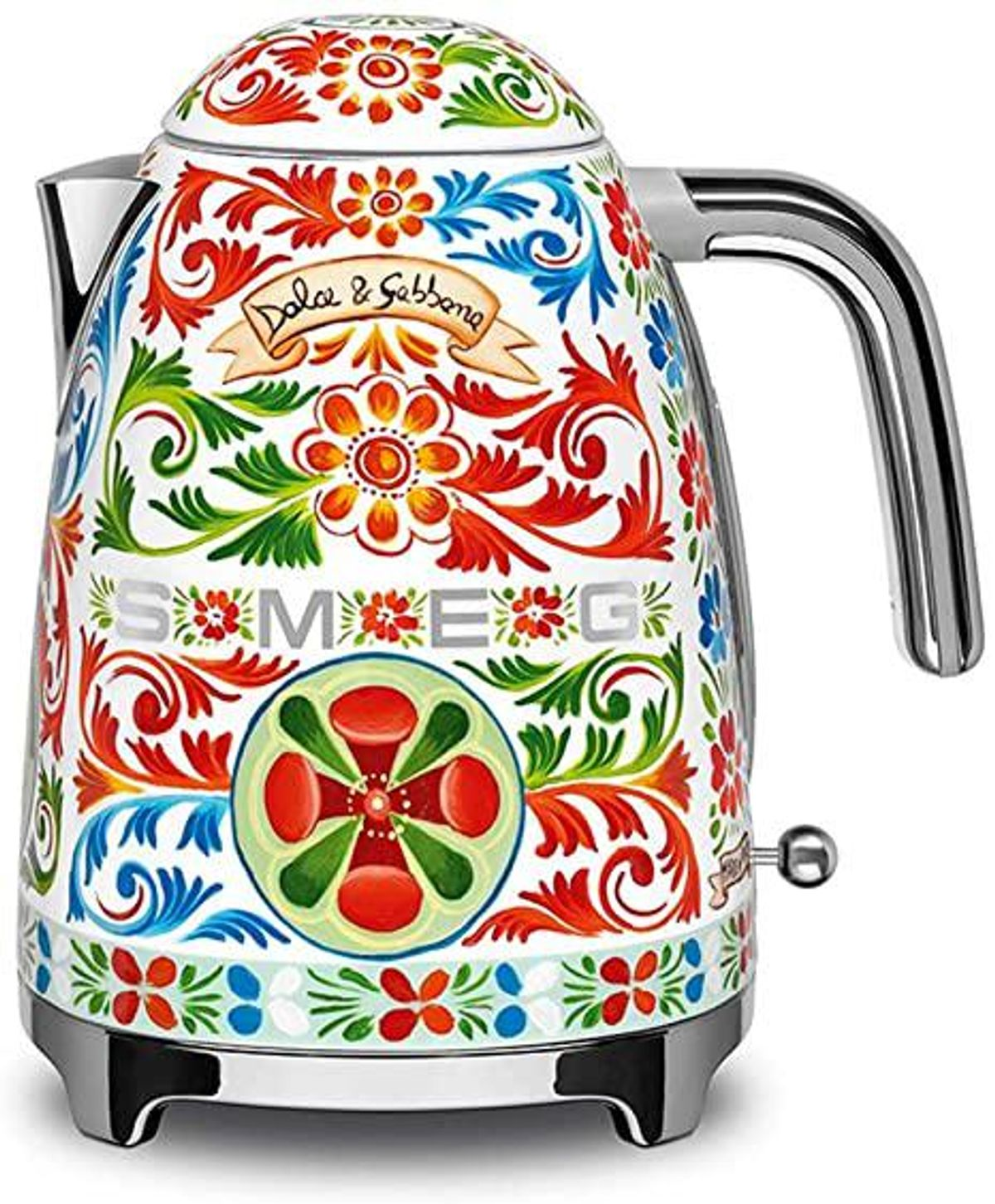 smeg x dolce & gabbana sicily is my love tea kettle