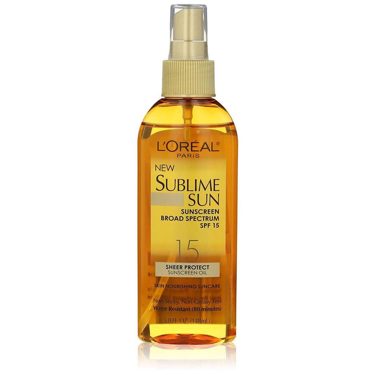 Sublime Sun Advanced Sunscreen Oil Spray SPF 15