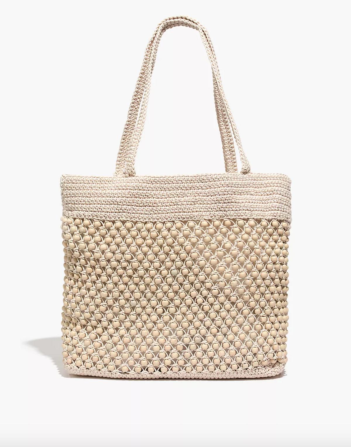The Beaded Crochet Tote Bag