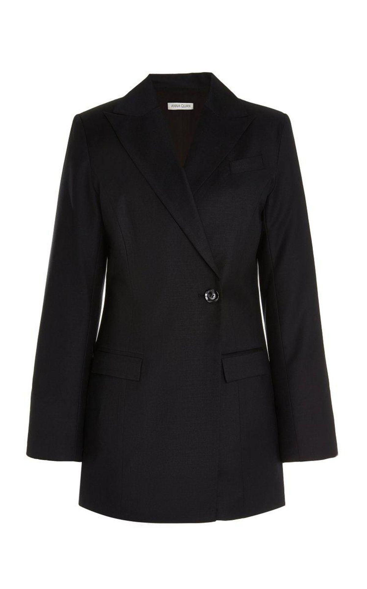 Sienna Single Button Wool Blazer