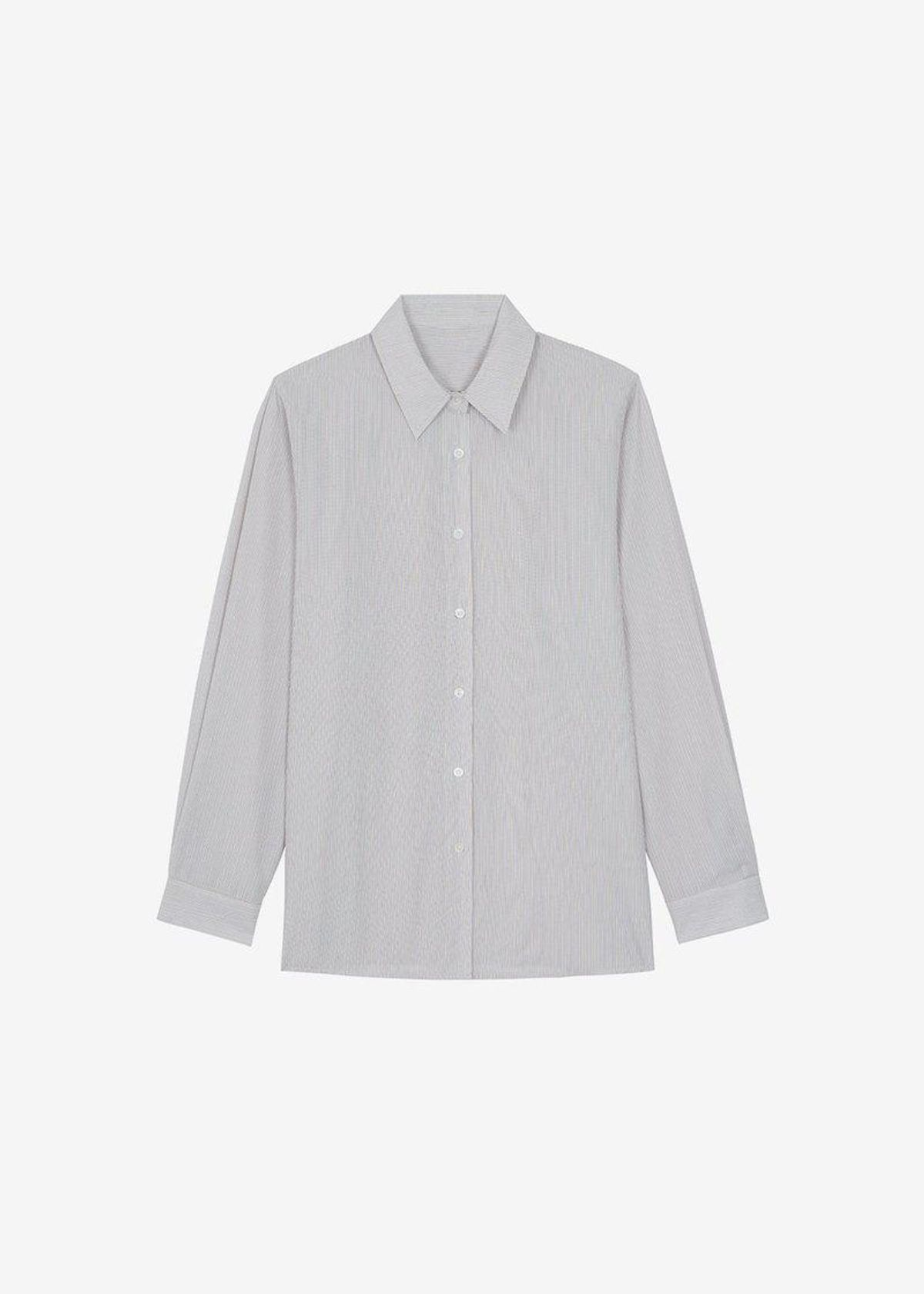 Laxo Pajama Shirt Mocha Stripe