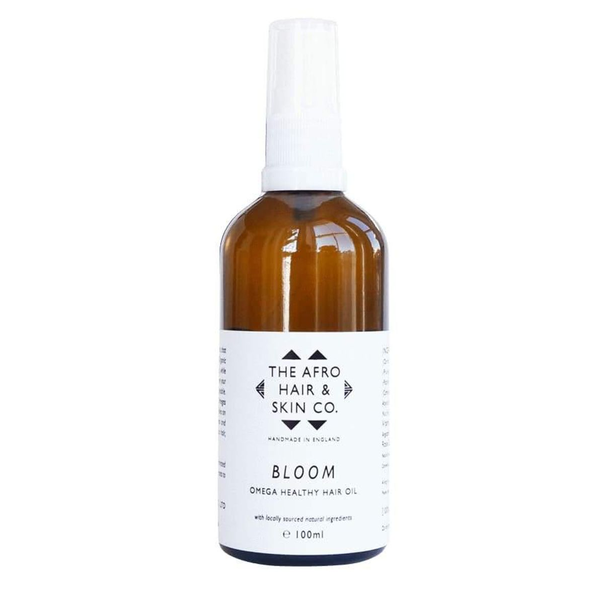 the afro hair and skin company bloom omega healthy hair oil