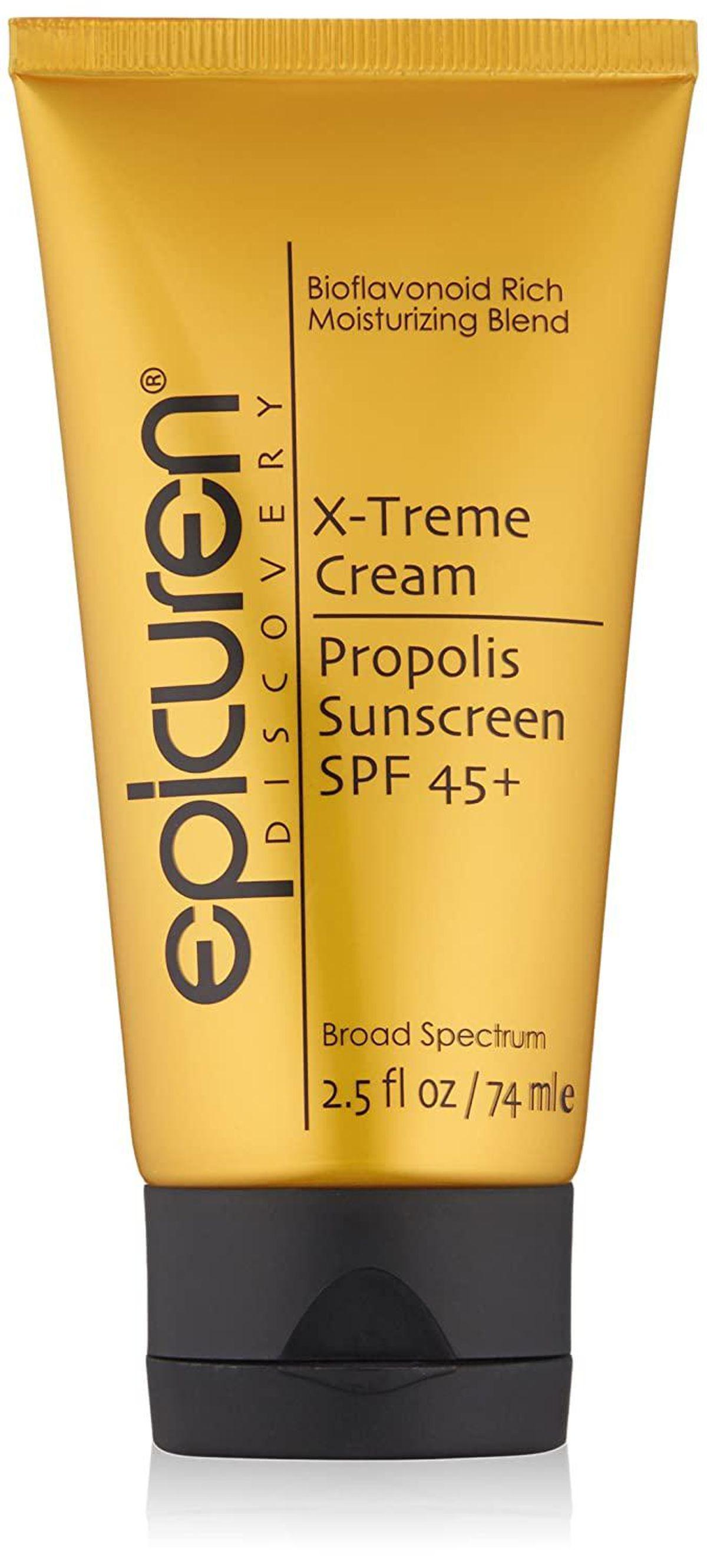 epicuren discovery x treme cream propolis sunscreen spf 45 plus