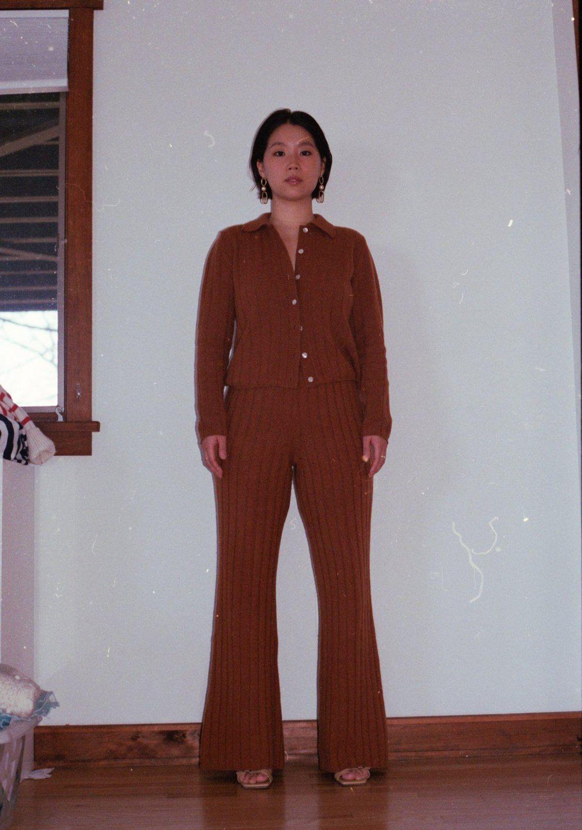 public habit the brooklyn cashmere pant