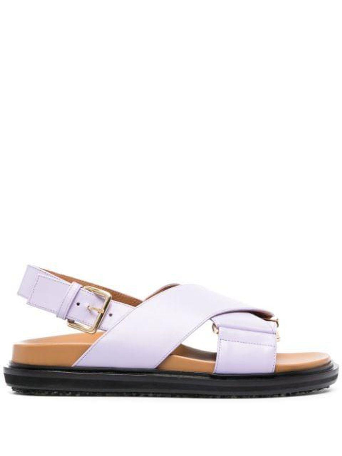 Purple Fussbett Sandals