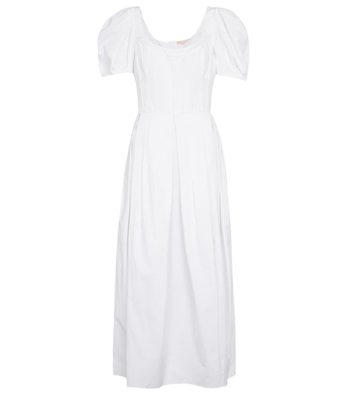 Salvina Cotton Midi Dress