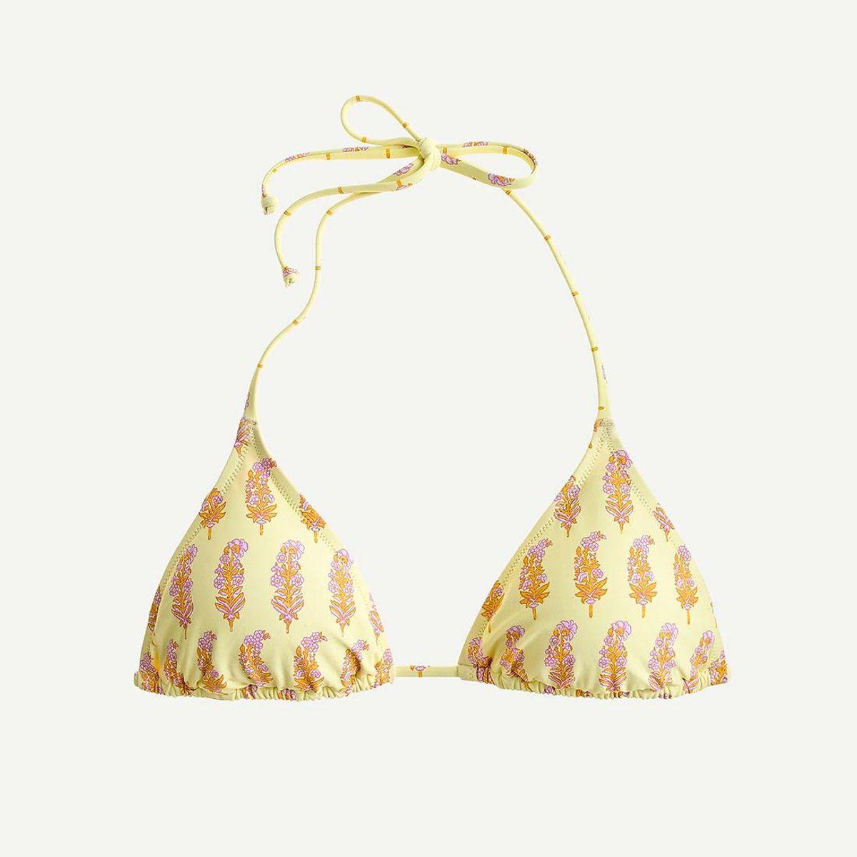 j crew x sz blockprints string bikini top