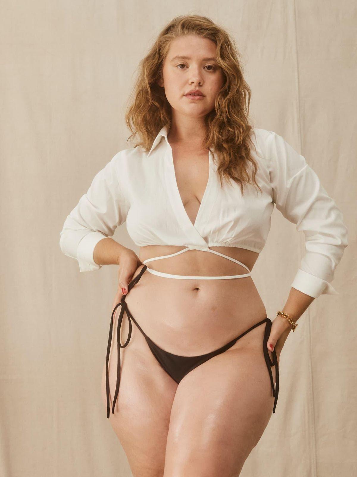 reformation mure string bikini bottom