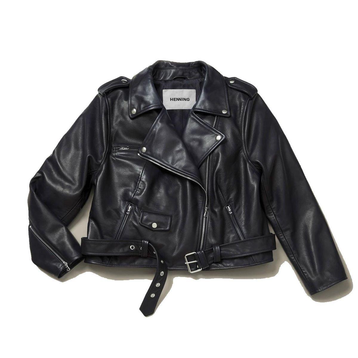 henning hudson leather jacket