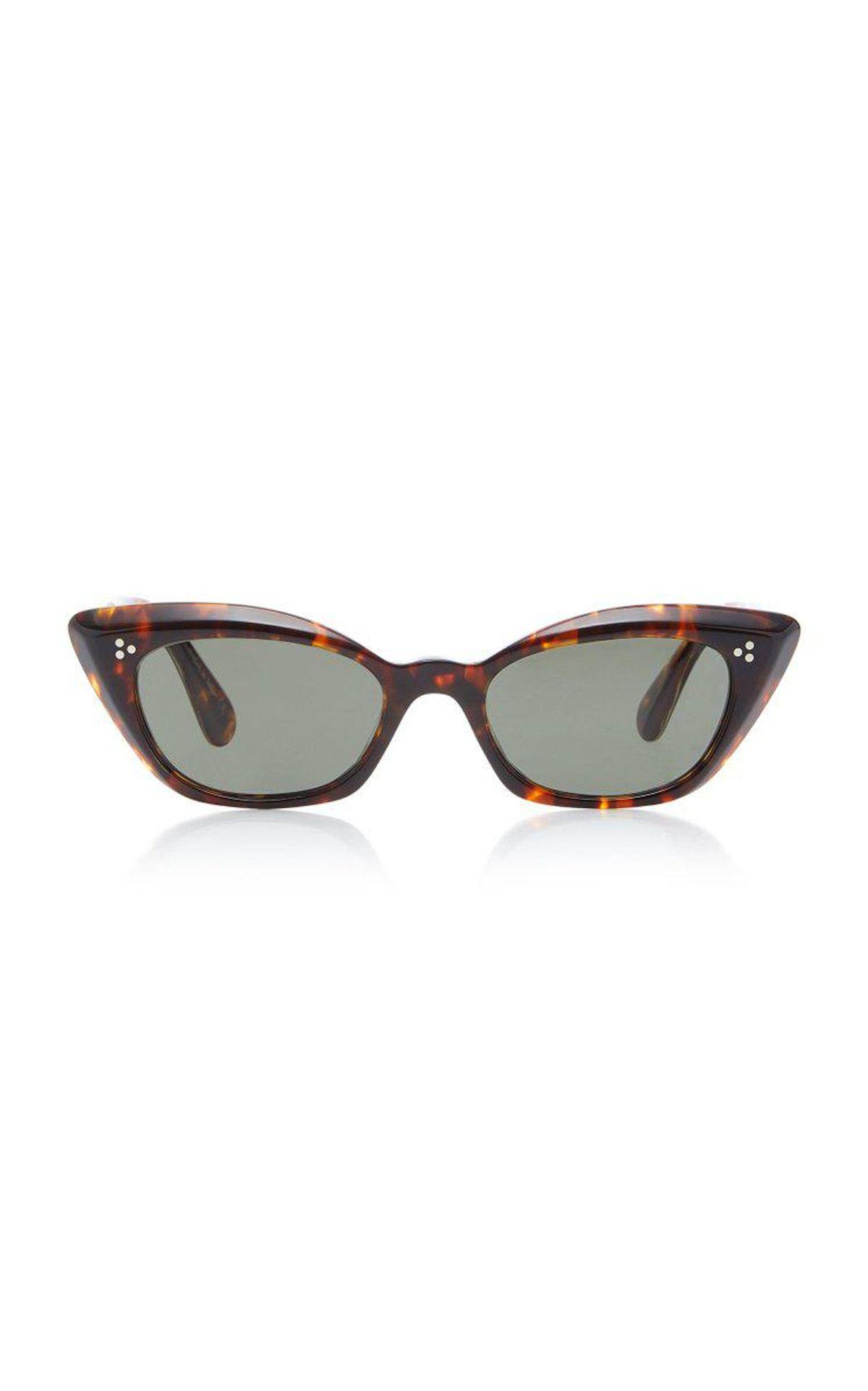 Bianka Cat Eye Tortoiseshell Sunglasses