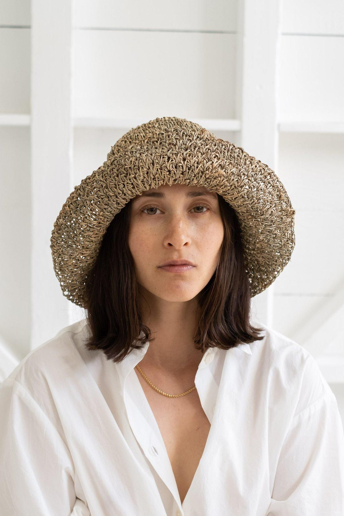 Opia Hat in Seagrass